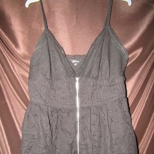 Guess Dressy tank with zipper